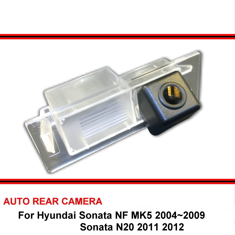 For Hyundai Sonata NF N20 2004~2009 Sonata N20 11-12 Car Waterproof Night Vision Trasera Rear View Reversing Backup Camera