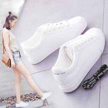 New 2021 Minimalist Low Shoes Women's Shoes Spring Shoes Flat Shoes Casual White Shoes Female Korean Board Shoes Tide