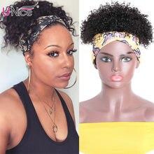 Parrucca Unice da 6 pollici corta Afro crespa riccia per capelli parrucche per capelli vergini neri naturali parrucche per capelli umani di colore naturale
