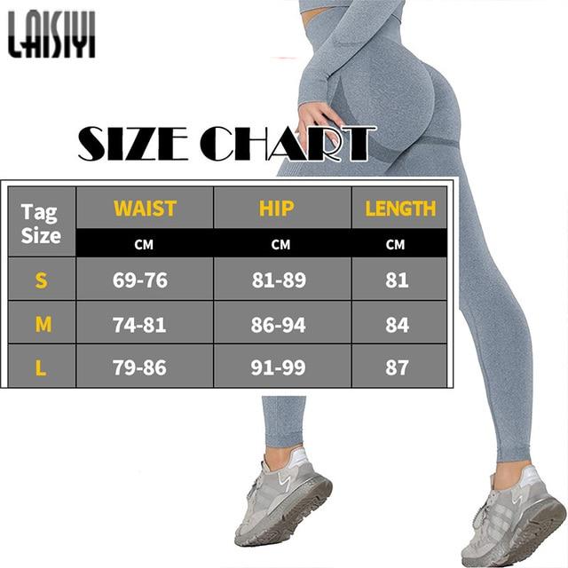 Leggings Women Bubble Butt Leggins Push Up Polyester Slim Sports Pants Booty Seamless Legging for Fitness Workout Gym Clothing 2