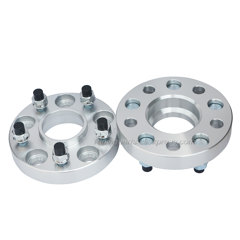 2pcs 20mm |PCD <font><b>5x114.3</b></font>| CB 67.1 | 12x1.5 Car Tire Flange <font><b>Wheel</b></font> <font><b>Spacer</b></font> For Mazda CX-5 ,M-6,M-8 ,Tezi,Outlander,Galant image