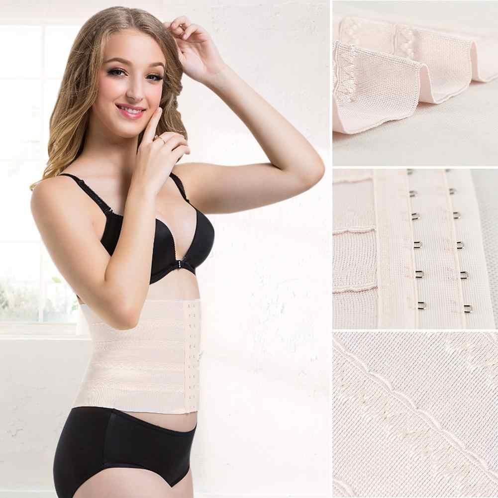 2020 cinto pós-parto mulheres cintura fina shaper corpo respirável puerperal cintura cincher controle espartilho cintura trainer cinto de emagrecimento