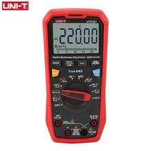 UNI-T ut61e + verdadeiro rms multímetro digital unidade de faixa automática verdadeiro rms medidor 22000 dígitos display 220mf grande teste de capacitância