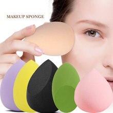 Абсорбирующая губка для макияжа спонж пудры основы крема консилера