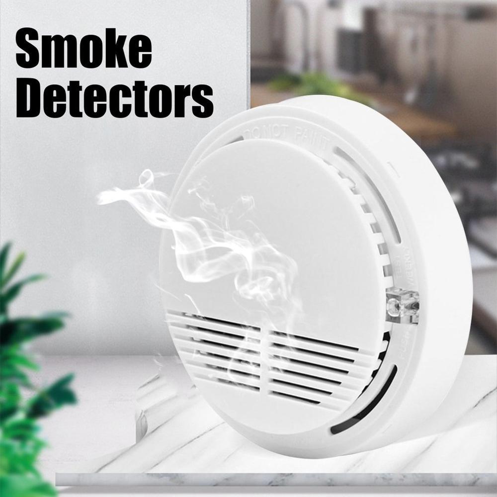 Дымовая сигнализация ACJ168 независимая, беспроводной пожарный детектор, аварийное оборудование подходит для различных ситуаций