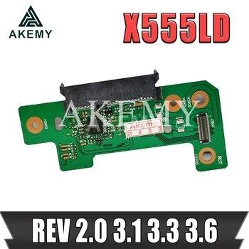 Новинка! X555LD REV 3,3 3,6 HDD плата для For Asus X555L X555LD ноутбук HDD жесткий диск версия 100% протестированная Быстрая доставка