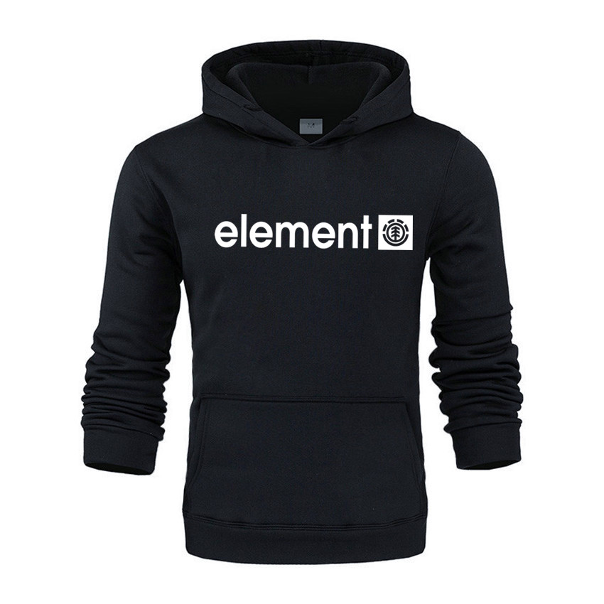 New 2020 Autumn Winter Brand Mens Hoodies Sweatshirts Men High Quality ELEMENT Letter Printing Long Sleeve Fashion Men's Hoodies