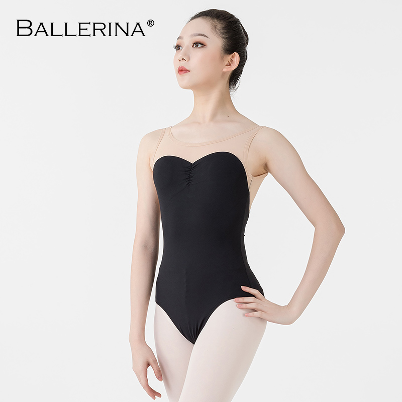 Ballerina Ballet Leotard Women Dancewear Professional Training Gymnastics Digital Printing Open Back Sexy Leotard 5657