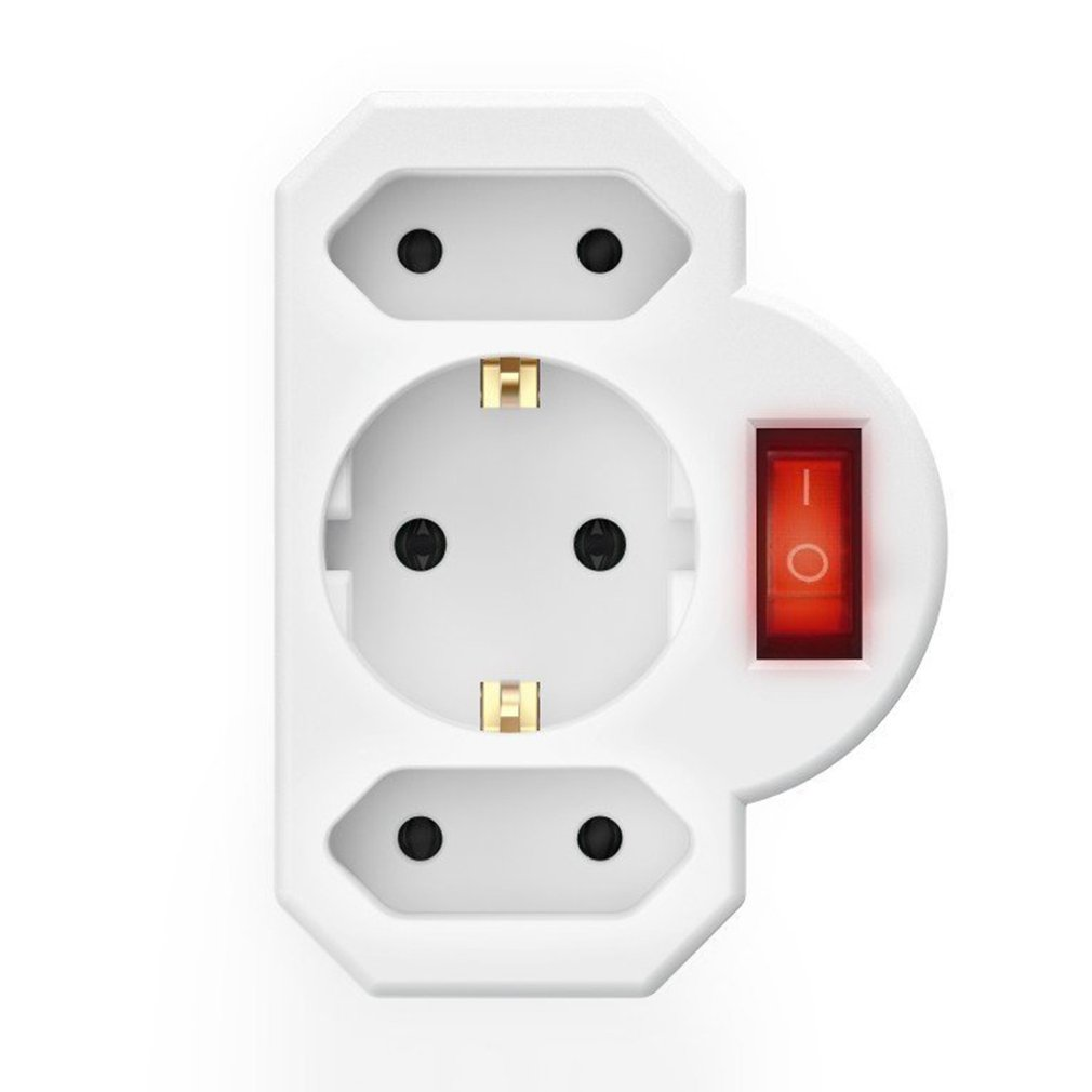 Socket Converter One Turn Multiple Two Or Three Hole Adapter Expansion Multi-Function Power Conversion Plug