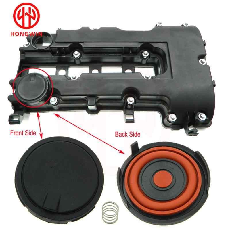 PCV-Abdeckkappe 11127646554 Professionelles Auto-Motor-Zylinderkopfventil-Abdeckkappen-Kit F/ür R56 R55 R57 R58 R59 R60 R61 PVC-Ventilabdeckkappe