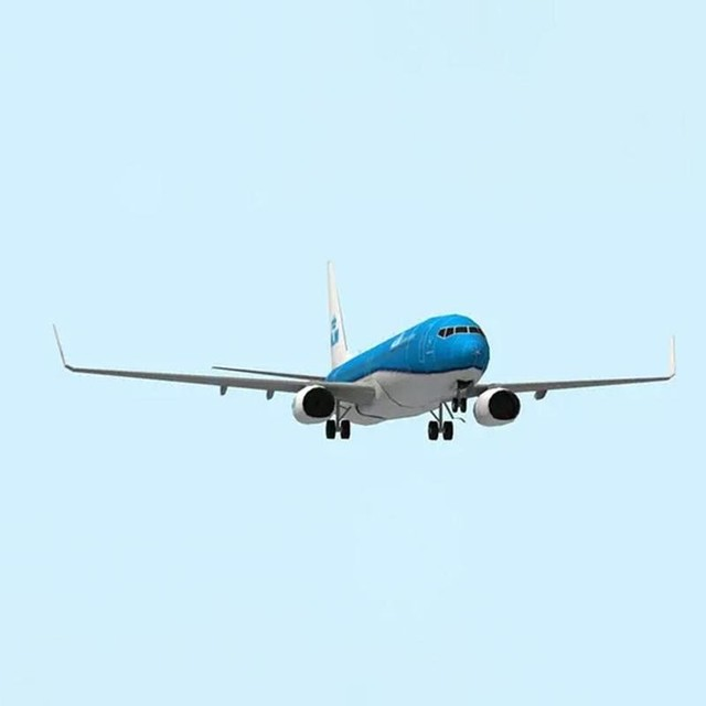 DIY Airplane Paper Model Papercraft Toy 1:100 Boeing Paper Model Aircraft Aircraft Handmade Origami Model 737 Toy Paper 3D P2J7 3