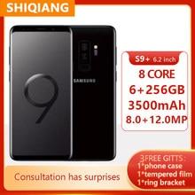 Verwendet Original Samsung Galaxy S9 + S9 Plus G965U G965U1 6GB RAM 64GB ROM Octa Core 6.2