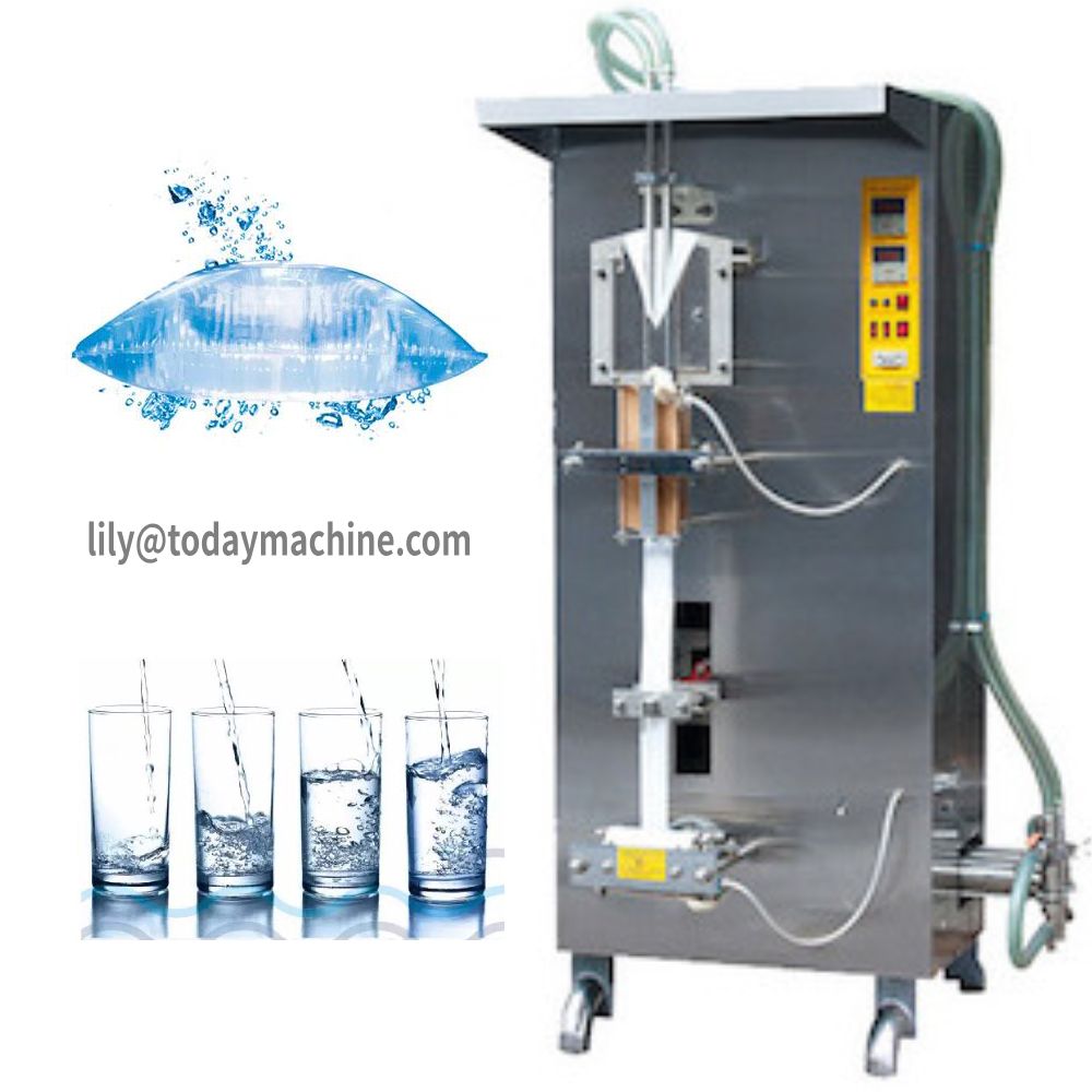 CBD Automatic Liquid Packing Machine For Water Pouch