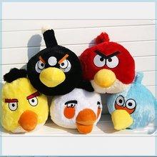 Brinquedo de pelúcia filme jogo angry bird plush doll piggy pássaro travesseiro brinquedo presente hobby