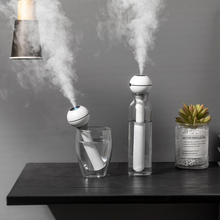 Magic Wand Air Humidifier for Home Office Portable USB Aroma Diffuser Car Mist Maker Ultrasonic Humidifier Diffusers LED Light цена и фото