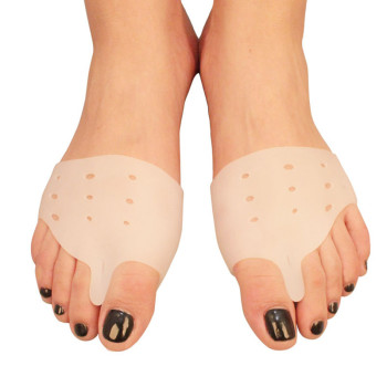 Silicone Insole Pads Gel Cushions Forefoot Pad Orthopedic Insoles Hallux Valgus Toe Separator Semelle Gel Silicone Shoes Inserts