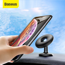 Baseus Car Phone Holder 360 Degree Air Vent Car Mount Holder Stand for iPhone X 7 Samsung for Cell Mobile Phone Magnetic Holder