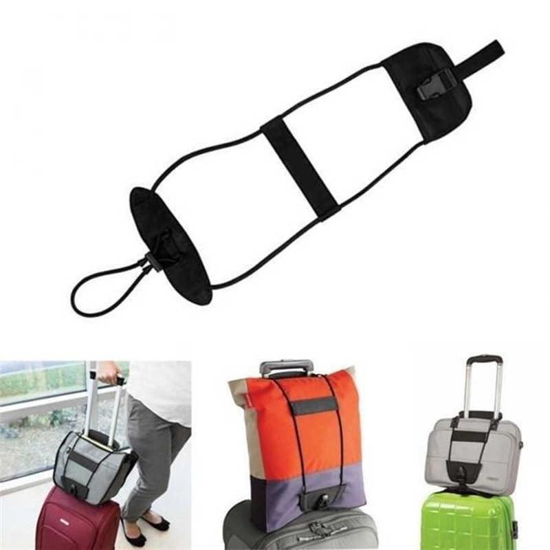 Elastyczny teleskopowy pasek bagażowy części torby podróżne walizka pas mocujący wózek regulowany akcesoria bezpieczeństwa materiały eksploatacyjne