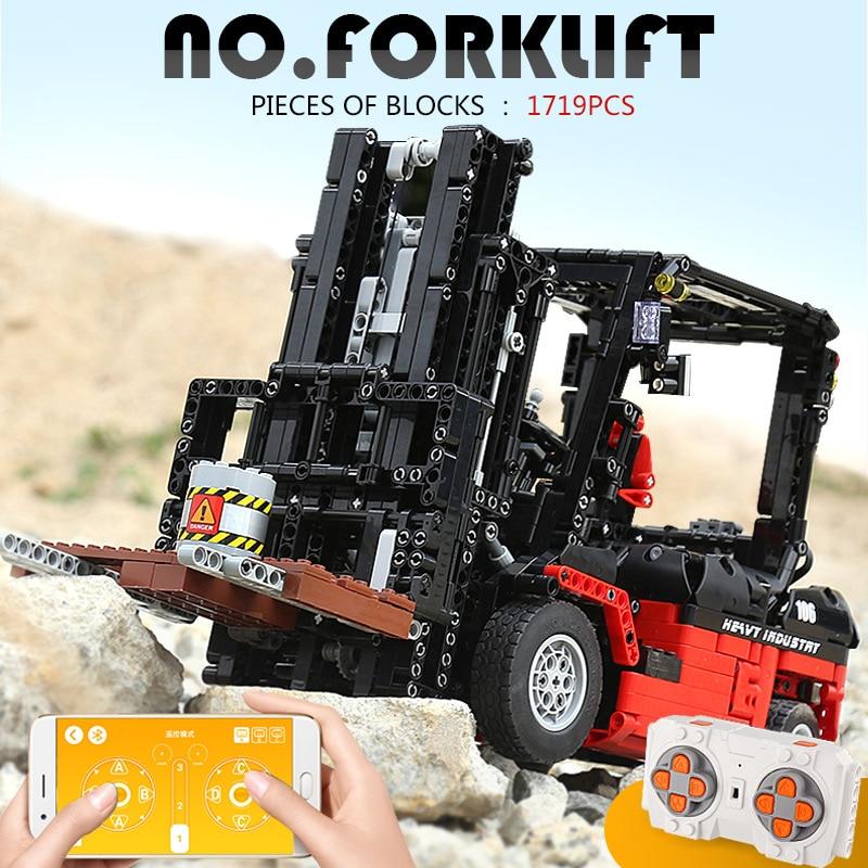 MOULD KING 13106 The 3681 Forklift Mk II Set