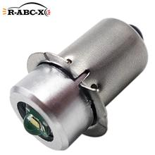1 pcs upgraded cree chip Flashlight touch light work lamp P13.5S DC 3V 6V 4.5V 2 4 cells replace bulb for Maglite