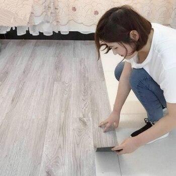 DIY Waterproof Self Adhesive Floor Sticker Flooring Tiles Furniture Renovation 20cm x 300cm
