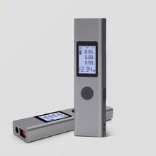 Duka الليزر المدى مكتشف 40 متر LS P المحمولة USB شاحن عالية الدقة قياس الليزر Rangefinder للمنزل الذكي ل شاومي
