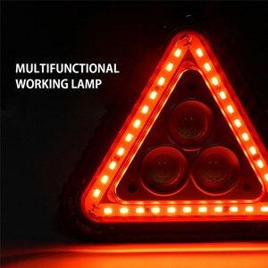 Image 5 - Портативный фонарь для обслуживания автомобиля, перезаряжаемый через USB Предупреждение наружного использования, кемпинга