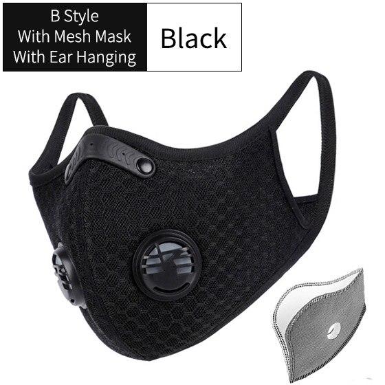 B Style Mesh Black