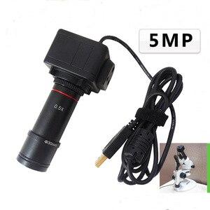 Image 1 - 5MP USB תעשייתי מצלמה משקפת מצלמה מיקרוסקופ אלקטרונים עינית אלקטרונים מיקרוסקופ