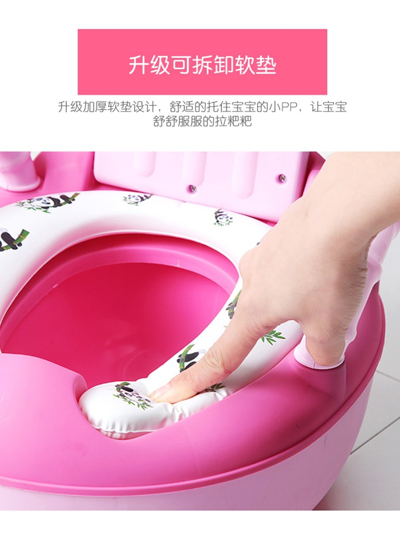 Factory Sales CHILDREN'S Toilet Pedestal Pan Male Baby Kids Potty Women's 1-3-6-Year-Old Large Size Plus Cartoon Infant Potty