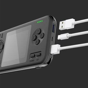 """Image 3 - Oyun konsolu Mini el 2019 sıcak patlayıcı güç bankası İki in one desen 2.8 """"LCD Retro dahili 416 oyun 8000mAh pil"""