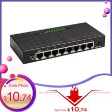 Conmutador Gigabit de 5/8/16 puertos, conmutador de red Ethernet Gigabit de 10/100/1000Mbps, Hub Lan, interruptor inteligente Ethernet de alto rendimiento
