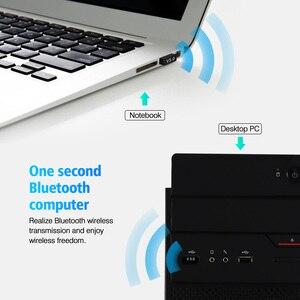 USB Bluetooth Adapters BT 5.0 USB Wireless Computer Adapter Audio Receiver Transmitter Dongles Laptop Earphone BLE Mini Sender