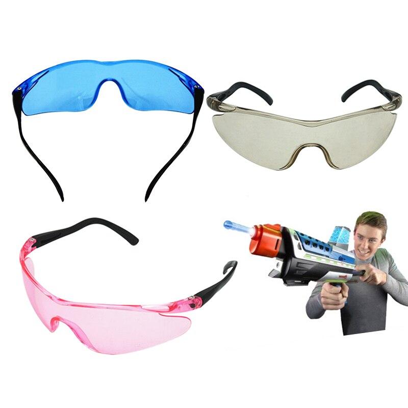 1 шт., пластиковый прочный игрушечный пистолет, очки, аксессуары, защита глаз, унисекс, для улицы, для детей, классические подарки