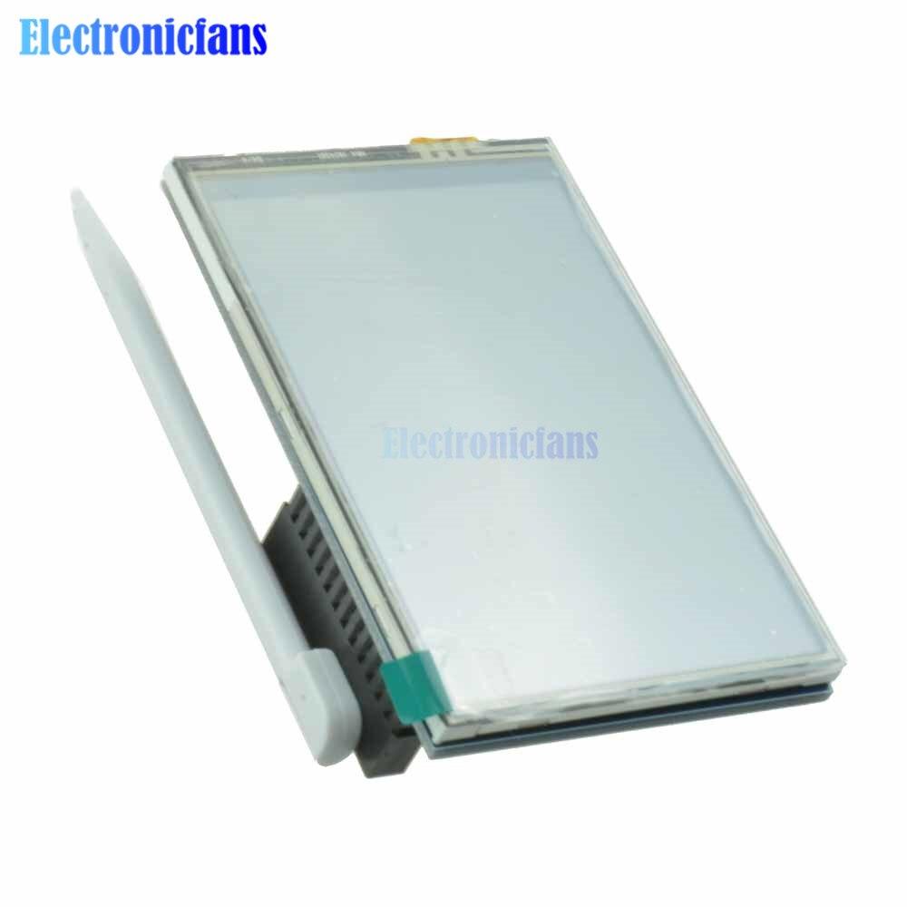"3.5 ""3,5 zoll 320x480 TFT LCD Touchscreen SPI RGB Digital Display Board Modul für Raspberry Pi 3 B B +/PI2"