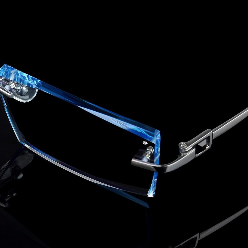 Herren Brillen Titan Randlose Brillen Kurzsichtigkeit Herren Business - Bekleidungszubehör - Foto 2