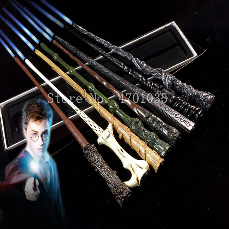 17 Kind Of Magic Wands Potter Cosplay Sirius Hermione Dumbuliduo Magic Light Wand High Quality With Gift Box Packing