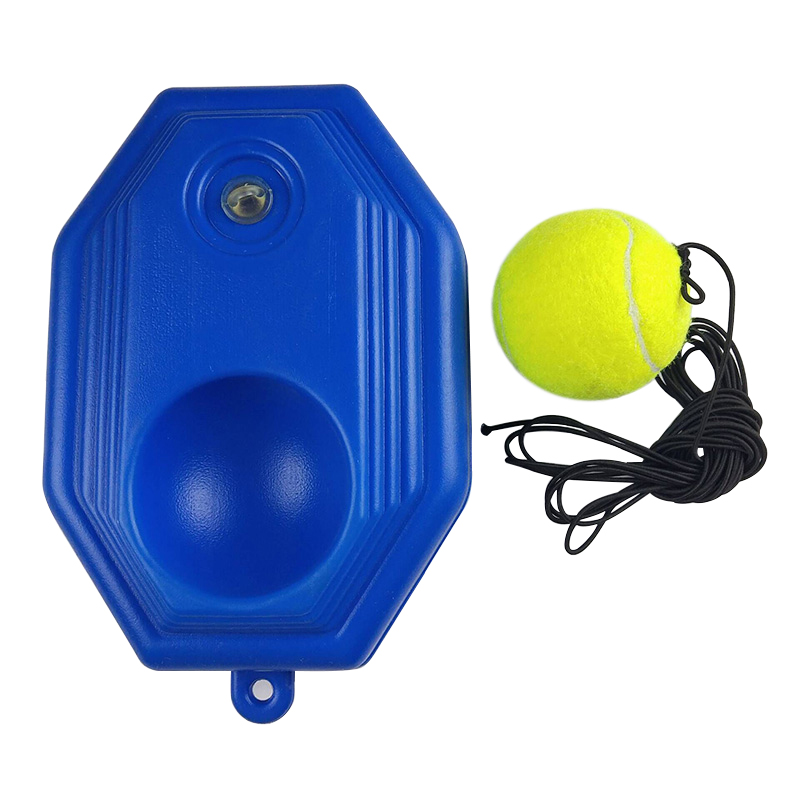 Tennis Training Tool Practice Trainer Baseboard Tenis Ball With Rope Exercise Self-study Rebound Sparring Device