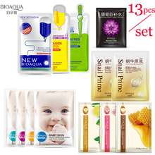 Bioaqua face masks Facial Skin Care Hyaluronic Acid Wrapped Mask plant Moisturizing Oil-control Whitening korean Black Face Mask 1kg hyaluronic acid moisturizing mask 1000g whitening lock water repair disposable sleeping cosmetics beauty salon products oem