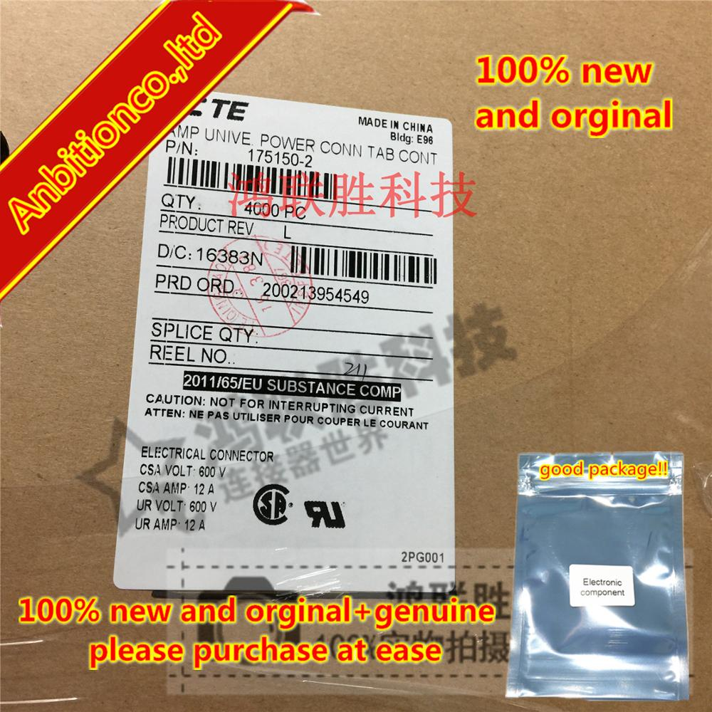 10-100pcs 100% New And Orginal 175150-2 Terminal Connector In Stock