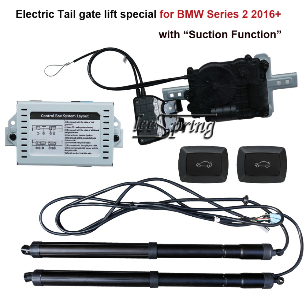 Car Smart Electric Tail Gate Lift For BMW 2 Series F22 F45 2016+  With Electric Suction