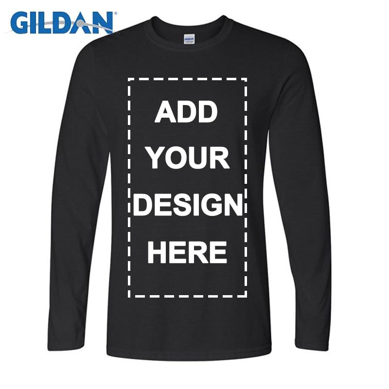 Gildan Brand Custom Men Long Sleeve T