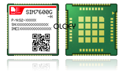 SIMcom SIM7600G LCC CAT4 LTE Module, 4G Module,  Global Frequency Band, 100% Brand New Original, SIM7600