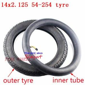 Image 5 - Bánh 14 inch Lốp Xe 14X2.125/54 254 lốp ống bên trong phù hợp với Nhiều Khí Điện Xe Tay Ga và Xe Máy E Xe Đạp 14*2.125 lốp xe 14x2.125
