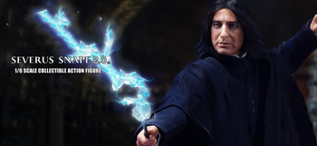 цена STAR ACE Toys SA0081 1/6 Scale Collectible Full Set Severus Snape 2.0 Head Body Clothes Weapon Accessory Action Figure Model онлайн в 2017 году