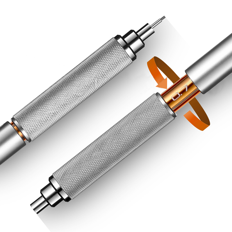 Image 4 - Mitsubishi Uni Mechanical Pencil Metal body pen M3/M4/M5/M7/M9 1010 0.3/0.4/0.5/0.7/0.9MM Writing Supplies Office & Schoolmechanical penciluni mechanical pencilmechanical pencil metal -