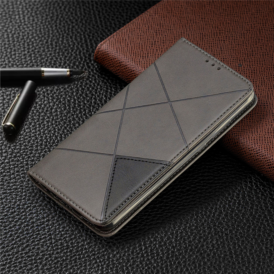 H5c05ffa170b24118b202031e7049b7e3w For Huawei Honor 10 Lite Case Leather Wallet Flip Cover Soft Silicone Case for Honor 10i 9X 8A 8S Magnetic Case Card Holder