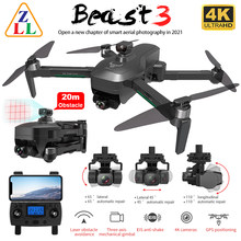 ZLL SG906 MAX PRO 2 PRO2 GPS Drone 4K HD Caméra Laser D'évitement D'obstacle 3 Axes Gimbal WiFi FPV Professionnel RC Quadrirotor