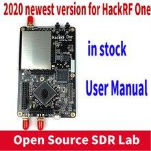2020 versão ferragem hackrf um software sdr definido rádio 1mhz a 6ghz placa de desenvolvimento de placa mainboard kit