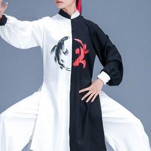 Image 1 - הסיני Taichi אחיד קונג פו בגדי אומנויות לחימה חליפת ביצועים חליפות וושו קונג פו תחפושת תלבושת טאי צ י בגדי FF2242